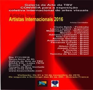 Artistas Internacionais 2016